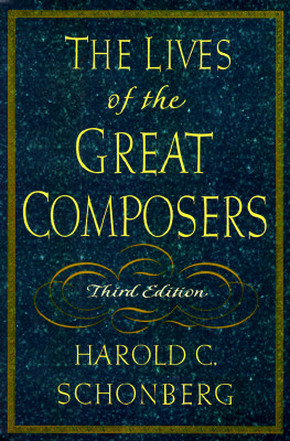 Image for The Lives of the Great Composers