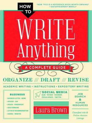 Image for How to Write Anything: A Complete Guide