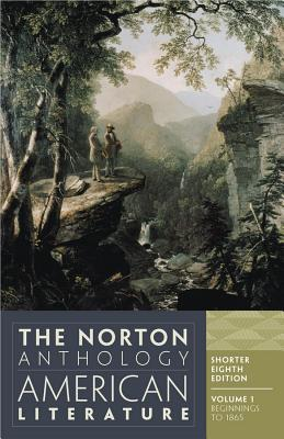 Image for The Norton Anthology of American Literature (Shorter Eighth Edition)  (Vol. Volume 1)