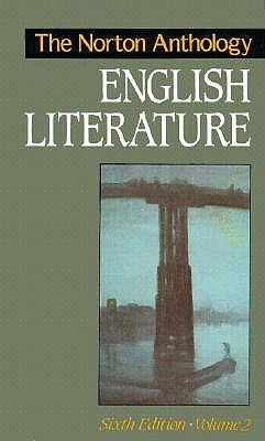 Image for NORTON ANTHOLOGY OF ENGLISH LITERATURE VOLUME 2 SIXTH EDITION