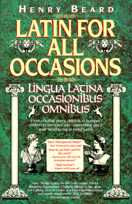 Image for Latin For All Occasions