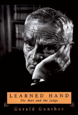 Image for Learned Hand : The Man and the Judge