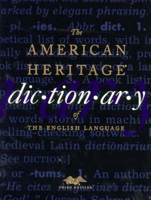 Image for The American Heritage Dictionary of the English Language, Third Edition