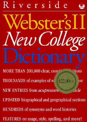 Image for Webster's II New College Dictionary