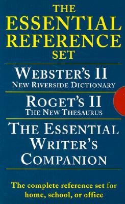 Image for Houghton Mifflin Essential Desk Reference Set, Paperback, 3-Book Set (0618952373)