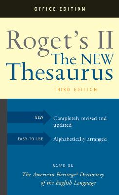 Image for Roget's II New Thesaurus 3rd Ed.