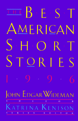 Image for The Best American Short Stories 1996: Selected from U.S. and Canadian Magazines