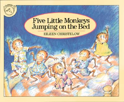 Image for Five Little Monkeys Jumping on the Bed (Board Book)