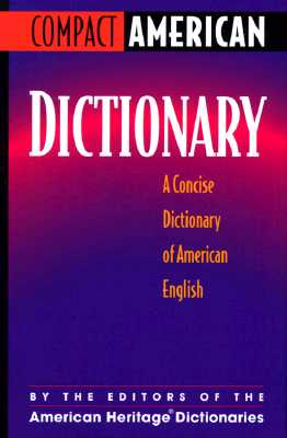 Image for Compact American Dictionary: A Concise Dictionary of American English