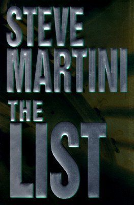 Image for The List [Large Print] by Martini, Steve