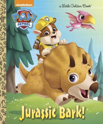 Image for Jurassic Bark! (PAW Patrol) (Little Golden Book)