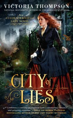 Image for City of Lies (A Counterfeit Lady Novel)