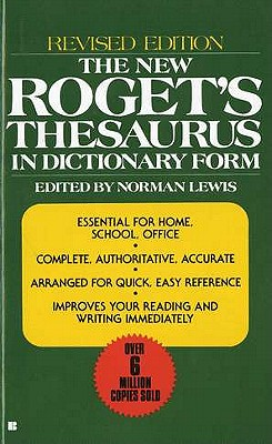 Image for NEW ROGET'S THESAURUS : IN DICTIONARY FO