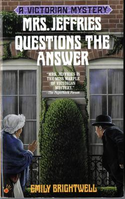 Image for Mrs. Jeffries Questions The Answer