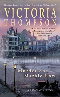 Image for Murder on Marble Row (Gaslight Mystery)