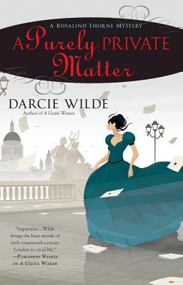 Image for A Purely Private Matter (A Rosalind Thorne Mystery)