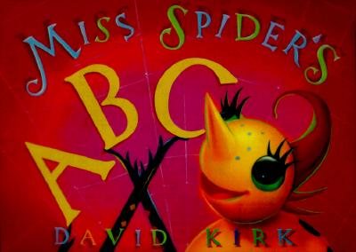 Image for Miss Spider's Abc Board Book