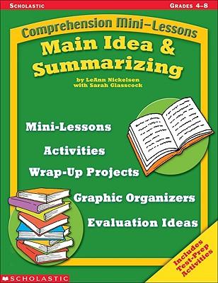 Image for Main Idea & Summarizing (Comprehension Mini-Lessons)