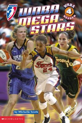 Image for WNBA Mega-stars (WNBA Reader 4)