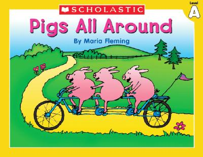 Image for Level A - Pigs All Around (Little Leveled Readers: Level a)