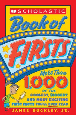 Image for Scholastic Book Of Firsts
