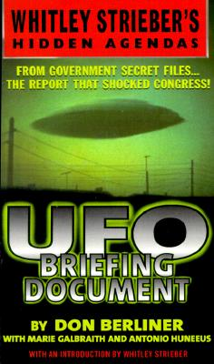 Image for UFO BRIEFING DOCUMENT The Best Available Evidence