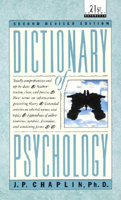 Dictionary of Psychology (A Laurel book), J.P. Chaplin