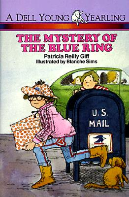 Image for The Mystery of the Blue Ring (Polka Dot Private Eye)