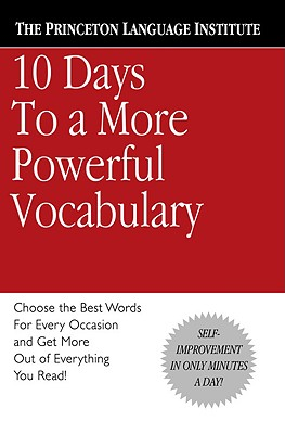Image for 10 Days to a More Powerful Vocabulary