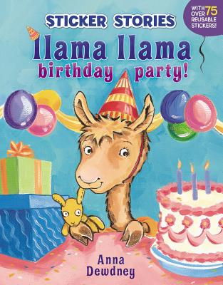 Image for LLAMA LLAMA BIRTHDAY PARTY! Sticker Stories