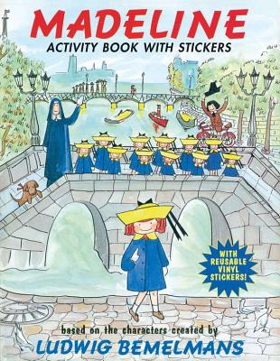 Image for Madeline: Activity Book with Stickers (some pages used)