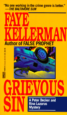Image for Grievous Sin A Peter Decker and Rina Lazarus Mystery