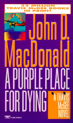 PURPLE PLACE FOR DYING (TRAVIS MCGEE, NO 3) -- BARGAIN BOOK, MACDONALD, JOHN D.