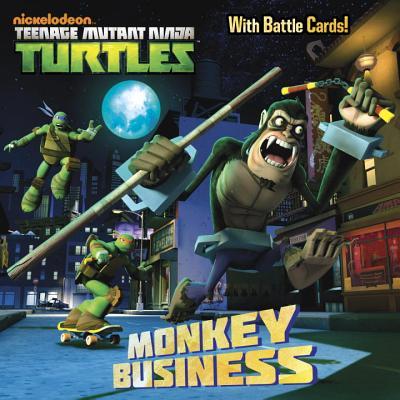 Monkey Business (Teenage Mutant Ninja Turtles) (Pictureback(R)), Random House