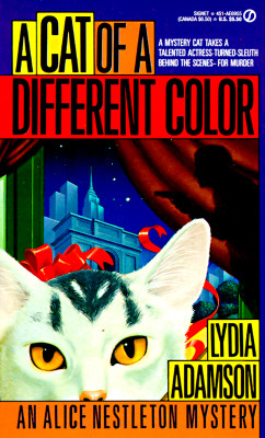 CAT OF A DIFFERENT COLOR, ADAMSON, LYDIA