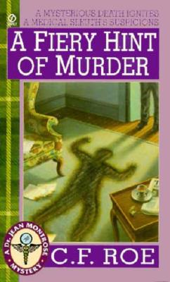 Image for A Fiery Hint of Murder (Dr. Jean Montrose Mystery)