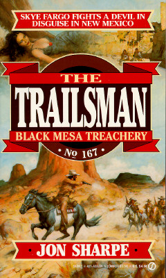 Image for Black Mesa Treachery (The Trailsman #167)