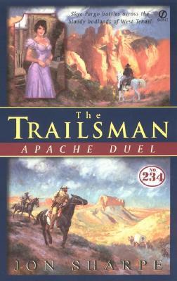 Image for The Trailsman 234: Apache Duel (Trailsman)