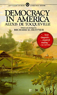 Democracy in America: Abridged Edition (Penguin Books for History: U.S.), Tocqueville, Alexis de