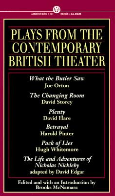 Image for Plays from the Contemporary British Theater (Mentor Series)