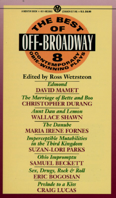 Image for The Best of Off-Broadway: Eight Contemporary Obie-Winning Plays