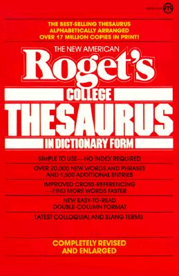 Image for The New American Roget's College Thesaurus in Dictionary Form (Meridian)