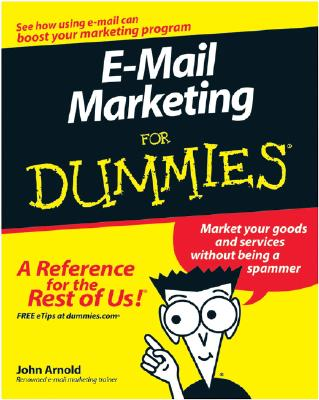 Image for E-Mail Marketing For Dummies