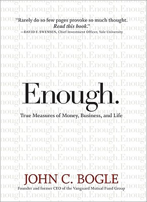 "Image for ""Enough: True Measures of Money, Business, and Life"""