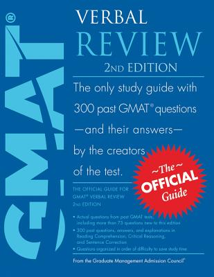 The Official Guide for GMAT Verbal Review, 2nd Edition, Graduate Management Admission Council (GMAC)