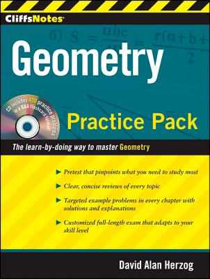 """CliffsNotes Geometry Practice Pack, """"Herzog, David A"""""""