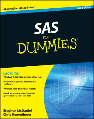 Image for SAS For Dummies