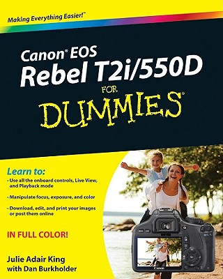 Image for Canon EOS Rebel T2i / 550D For Dummies