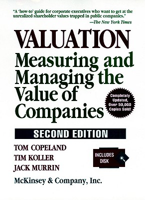 Image for Valuation: Measuring and Managing the Value of Companies (Frontiers in Finance Series)