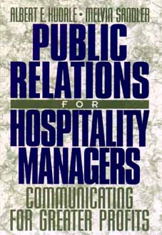 Image for PUBLIC RELATIONS FOR HOSPITALITY MANAGER